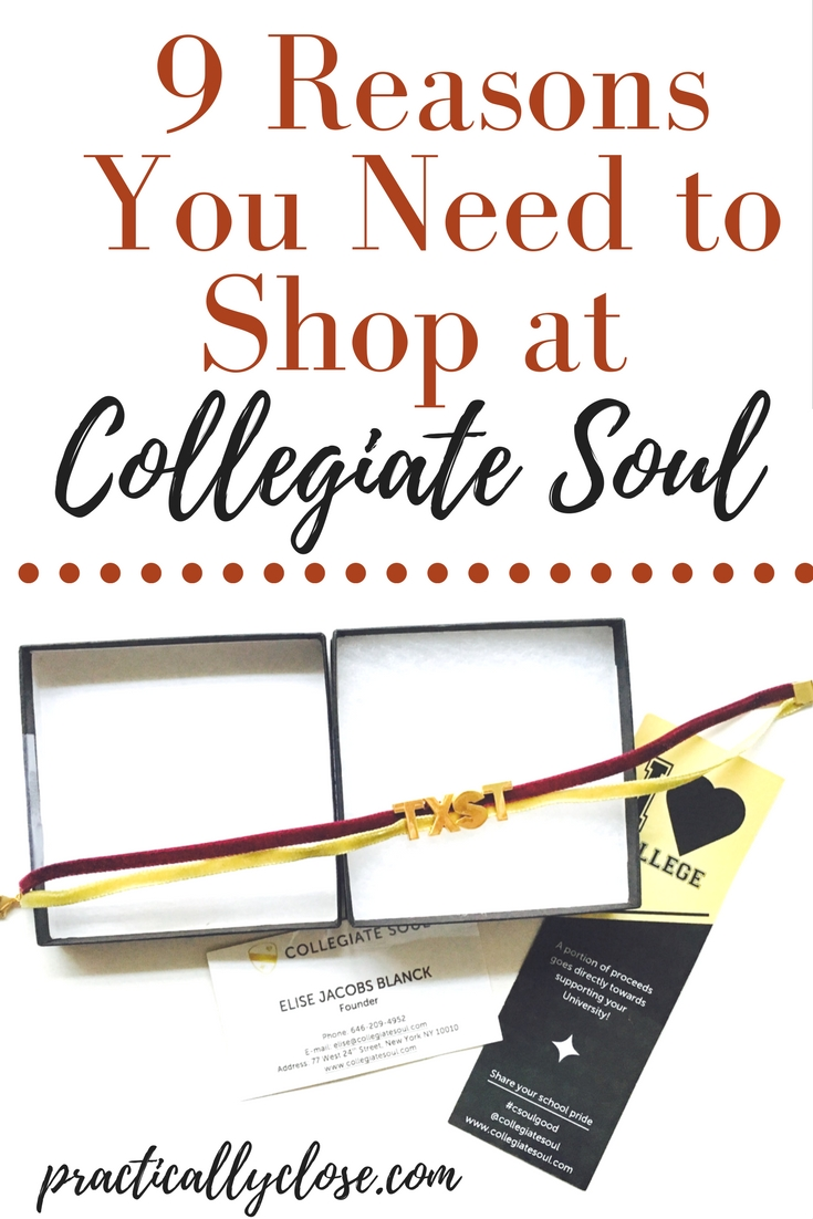 collegiate soul college shopping