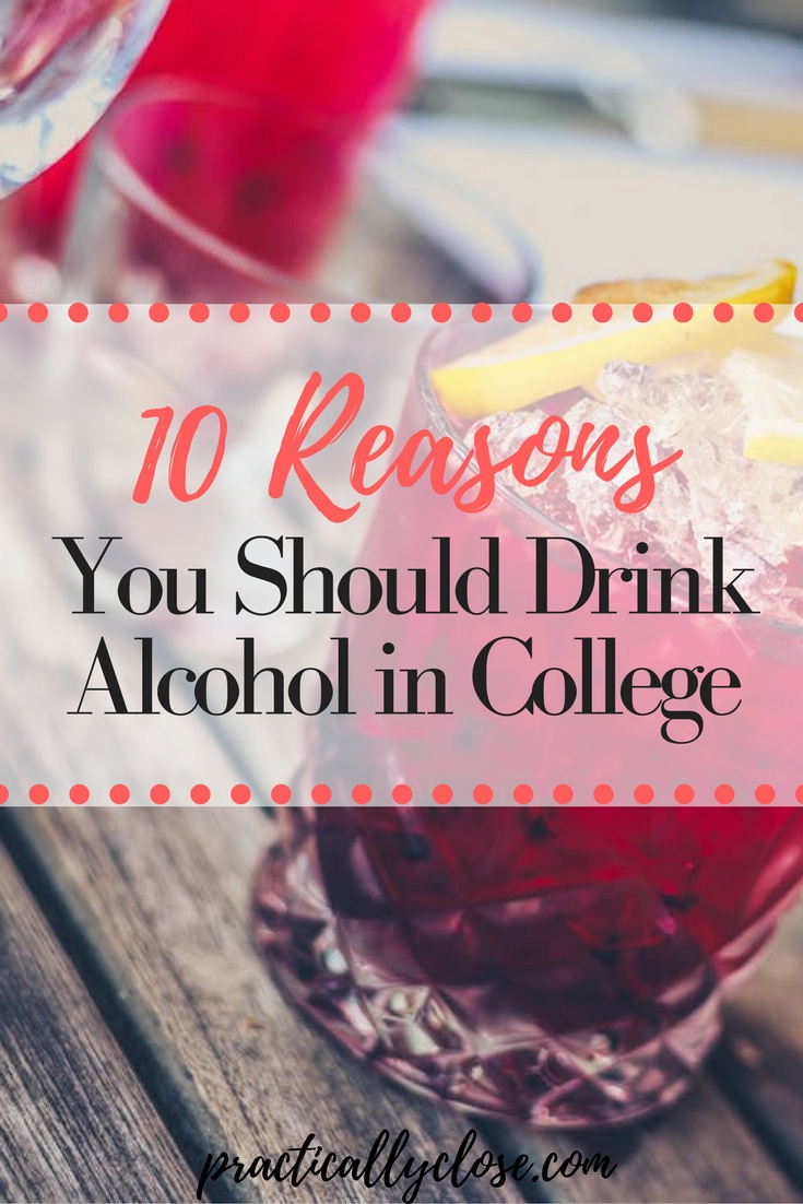 drink alcohol in college